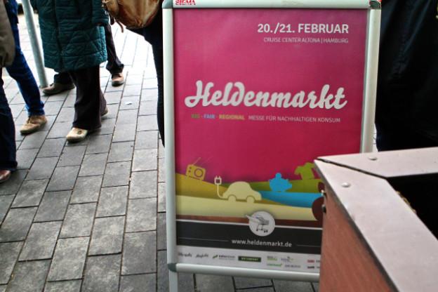 Ein Rückblick auf den Heldenmarkt in Hamburg, 20. Februar 2016 - danke an das Presse-Team