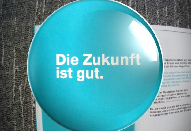 Die Zukunft ist gut - in der Nestlé Zukukunftsstudie »Wie is[s]t Deutschland 2030«